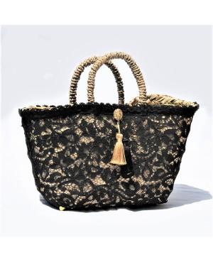 Black Lace Coffa Bag