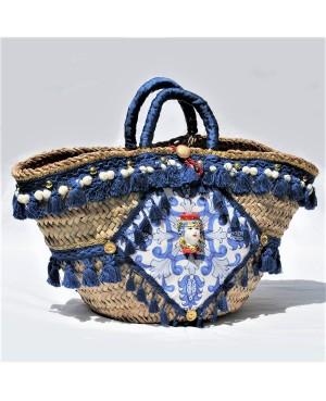 Coffa Catania bag blue red