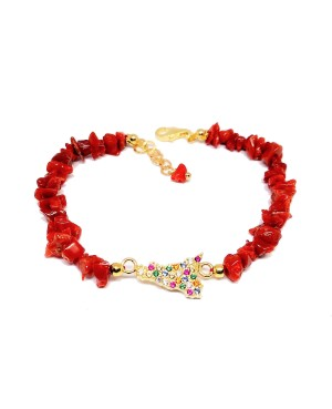 Bracelet Sicilia Corallo...
